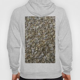 Top view shot of Oatmeal texture. Hoody