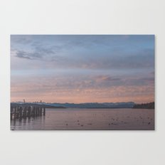 Starnbergersee at dawn Canvas Print