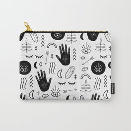 Witchy Patterns Carry-All Pouch
