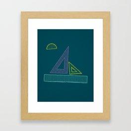 Sailing Rules Framed Art Print