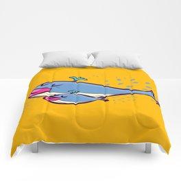 Whale & son / ballena e hijo  Comforters