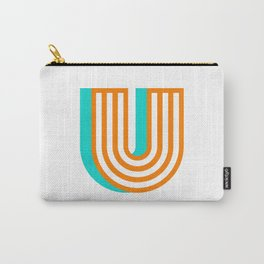 Letter U Carry-All Pouch
