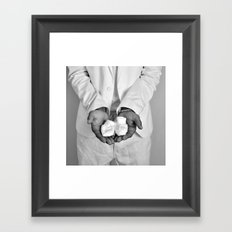 dad to be Framed Art Print
