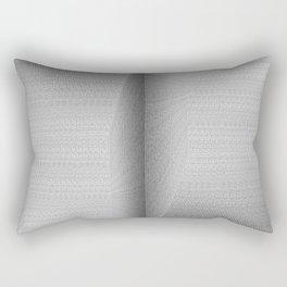 Binary Rooms Rectangular Pillow