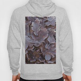 Fallen Oak Leaves Autumn Scene #decor #society6 #buyart Hoody