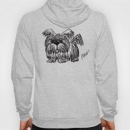 Woof :: A Dust Mop Dog Hoody