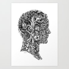 portrait of summer Art Print