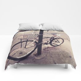 Bicycles of New York City Comforters