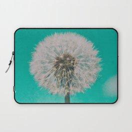 Green Blue Dandelion Laptop Sleeve