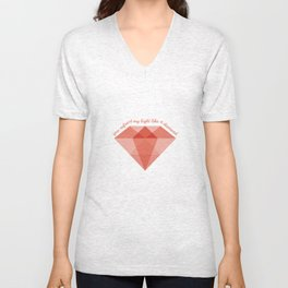 Refract My Light  Unisex V-Neck