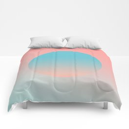 Sunrise Abstract Comforters