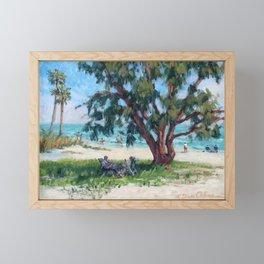 Made in the Shade — Sarasota, Florida Framed Mini Art Print