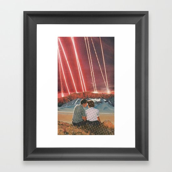 Lazers Framed Art Print