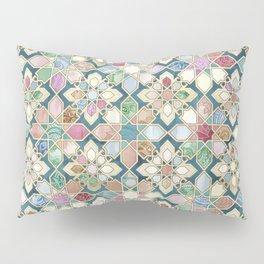 Muted Moroccan Mosaic Tiles Pillow Sham