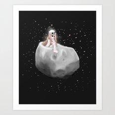 Lost in a Space / Phobosah Art Print