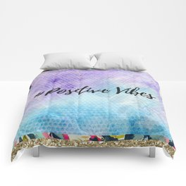 #Positive vibes Comforters