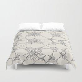 Spiderweb Pattern Duvet Cover