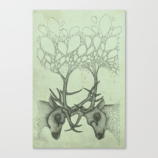 Into the Spring Canvas Print