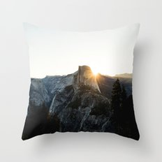 Beautiful Yosemite Throw Pillow