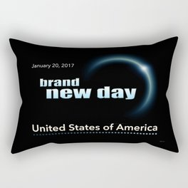 Brand New Day Rectangular Pillow