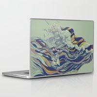 huebucket Laptop & iPad Skins featuring OCEAN AND LOVE by Huebucket