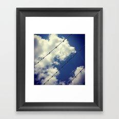 Sky Lights Framed Art Print