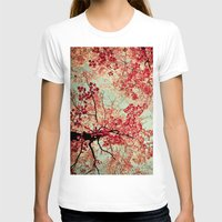 michigan T-shirts featuring Autumn Inkblot by Olivia Joy StClaire
