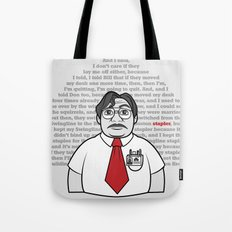 Milton's Monologue Tote Bag