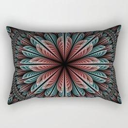 Fantasy flower and petals IV Rectangular Pillow