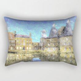 Three Mills Bow London Art Rectangular Pillow