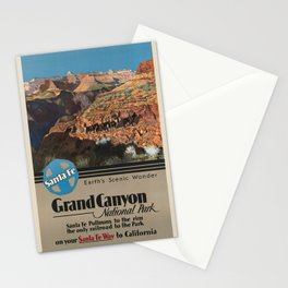 Vintage poster - Grand Canyon Stationery Cards
