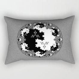 Fractal Taijitu Rectangular Pillow