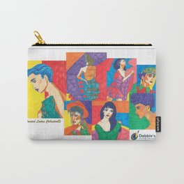 Painted Ladies Collection, Group II Carry-All Pouch