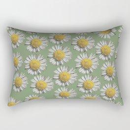 pastel daisy mania Rectangular Pillow