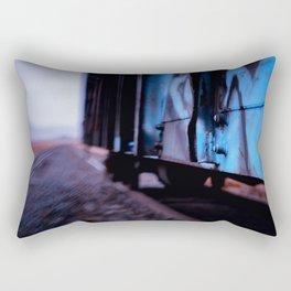 Hoppin the Train Rectangular Pillow