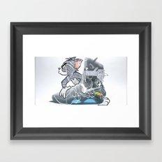 nike Framed Art Print