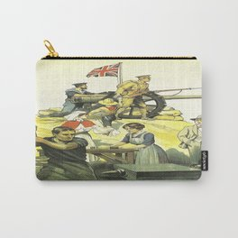Vintage poster - Are YOU in this? Carry-All Pouch