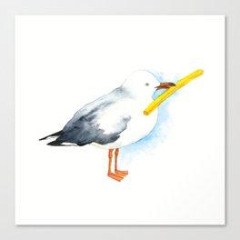 Seagull - Natural Born Lovers Canvas Print