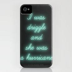 Hurricane iPhone (4, 4s) Slim Case