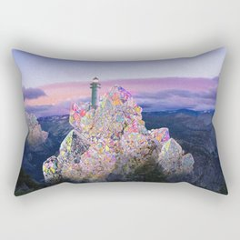 crstl mtn Rectangular Pillow