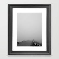 End of the Line Framed Art Print