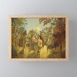 """Henri Rousseau """" Eve in the Garden of Eden"""", 1906-1910 Framed Mini Art Print"""