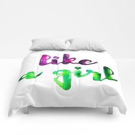 Like a Girl Comforters