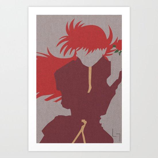 Kurama Art Print