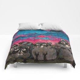 Raccoon Family Comforters