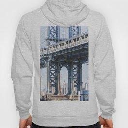 Manhattan Bridge Empire Blue Hoody