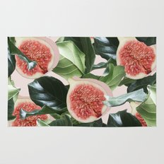 Figs & Leaves #society6 #decor #buyart Rug