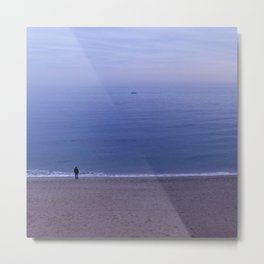 For that Moment the Sea Stood Still Metal Print
