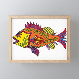 Rockfish Framed Mini Art Print