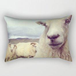 What's up? Rectangular Pillow
